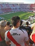 Футбольный стадион El монументальный Стоковое Изображение