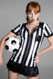футбол девушки Стоковые Изображения RF
