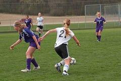 футбол действия Стоковое Изображение RF