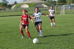 футбол действия Стоковые Фотографии RF