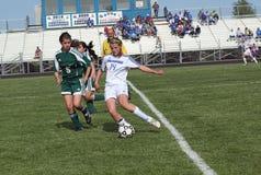 футбол действия Стоковые Изображения RF