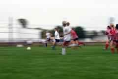 футбол действия Стоковое Фото