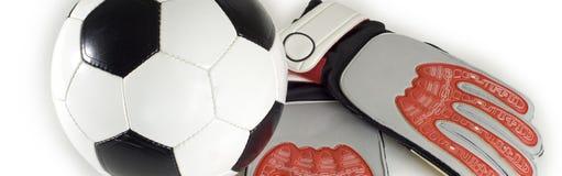 футбол деталей футбола Стоковая Фотография RF