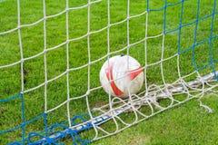 футбол должностного лица шарика Стоковые Изображения RF