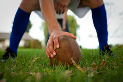 футбол задворк Стоковое Изображение