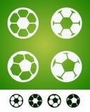 футбол знака Стоковое фото RF