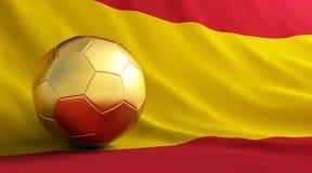 футбол золота шарика бесплатная иллюстрация