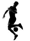 футбол игрока человека футбола Стоковая Фотография RF