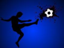 футбол игрока Стоковое Фото