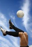 футбол игрока Стоковое Изображение RF