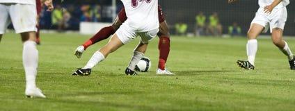 футбол игроков Стоковая Фотография RF