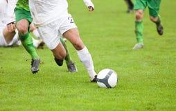 футбол игроков Стоковое фото RF