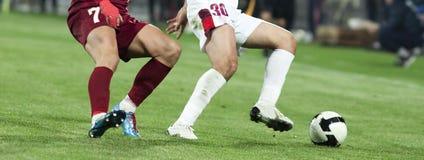 футбол игроков Стоковое Изображение RF