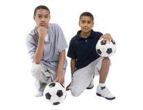 футбол игроков Стоковые Фото