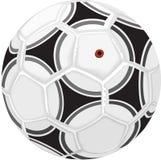 футбол иллюстрации шарика иллюстрация вектора