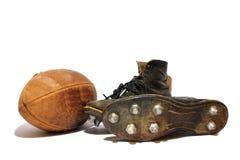 Футбол и зажимы Стоковые Изображения RF