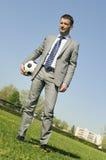футбол кареты стоковая фотография rf