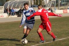 футбол поединка Стоковое Фото