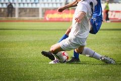 футбол поединка Стоковое фото RF