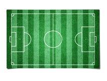 футбол поля бумажный Стоковое Изображение