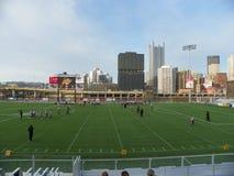 Футбол поля Питтсбурга PA/Highest горизонта стоковое изображение