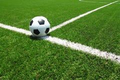 футбол поля шарика Стоковые Изображения
