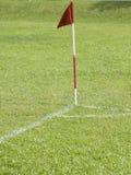футбол поля Стоковое Изображение