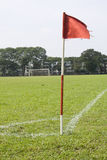 футбол поля Стоковое Изображение RF