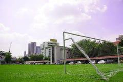 футбол поля Стоковая Фотография RF