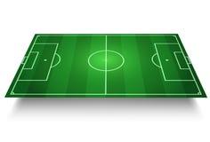 футбол поля Стоковое Фото