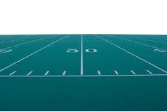 футбол поля Стоковая Фотография