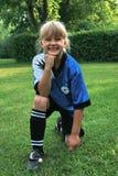 футбол портрета малыша стоковые фото