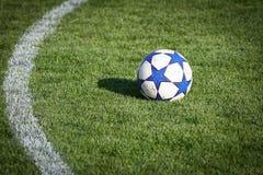 футбол предпосылки Стоковая Фотография