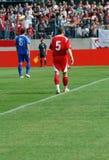 футбол пролома Стоковые Изображения RF
