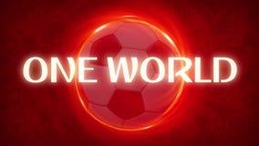 Футбол - самый лучший мир объединяет в команду 2018 - качество 4K