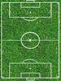футбол тангажа стоковое изображение