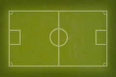 футбол травы футбола Стоковое Фото