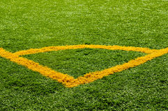 футбол угловойым пинком Стоковое фото RF