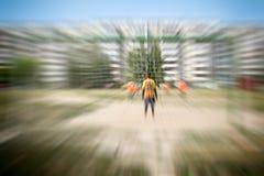 Футбол улицы в России Стоковые Изображения
