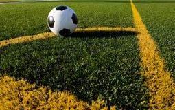 футбол футбола поля шарика Стоковые Фотографии RF