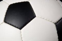 футбол футбола предпосылки черный Стоковые Фото