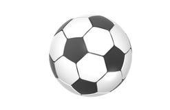футбол футбола шарика Стоковое Изображение