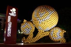 футбол цветка Стоковое Изображение