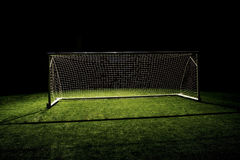 футбол цели футбола Стоковые Фото