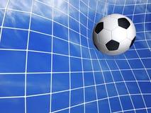 футбол цели Стоковое Изображение RF