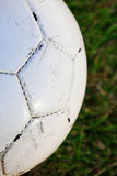 футбол шарика близкий вверх Стоковые Фото