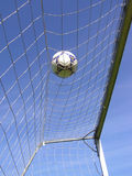 футбол шарика сетчатый Стоковые Изображения RF
