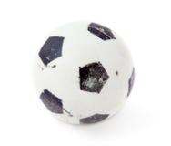 футбол шарика старый малый Стоковое Фото
