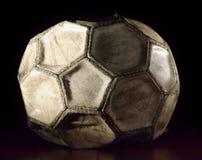 футбол шарика старый Стоковая Фотография RF
