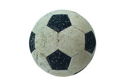 футбол шарика старый Стоковое Изображение